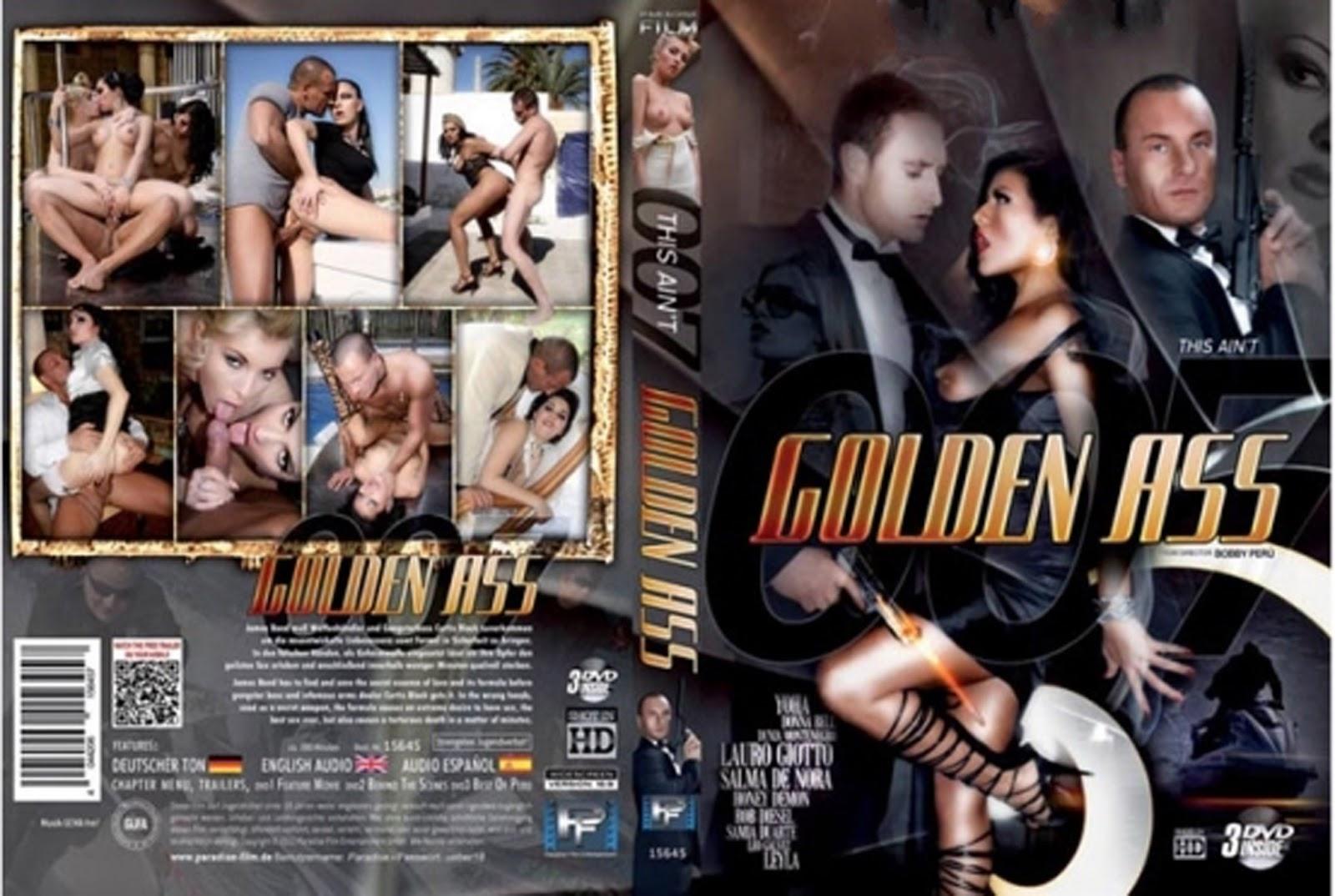 007 Porn dvd cover free: dvd cover xxx : this aint 007 golden ass xxx