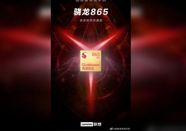 "Lenovo Ciptakan Hp Gaming ' Legion ""? Pakai Snapdragon 865"