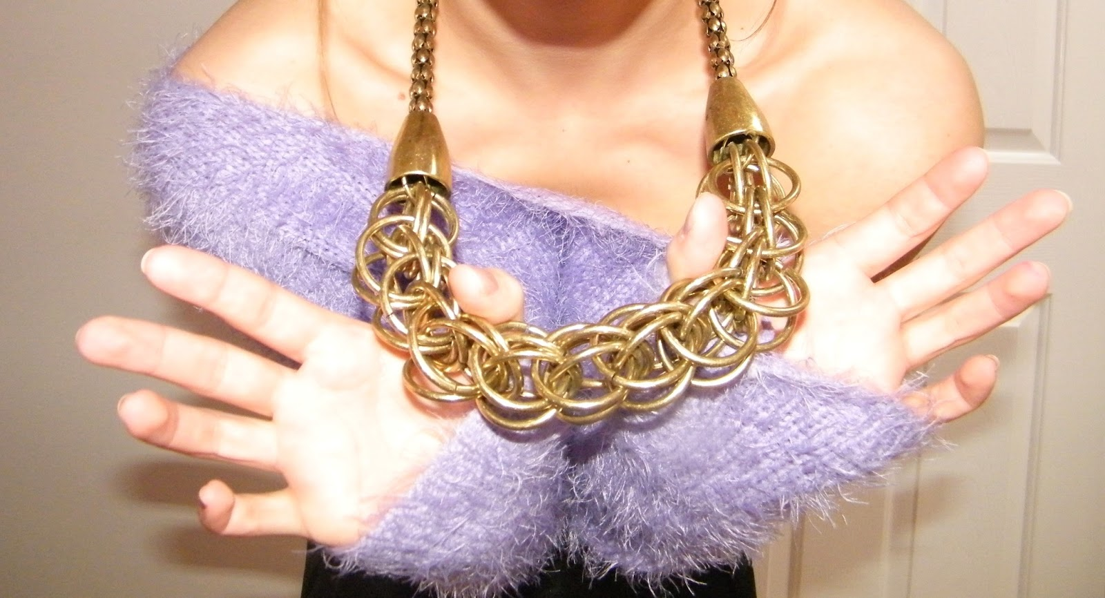 Topshop Chunky Gold Chain