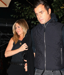 Jennifer Aniston and Justin Theroux had a New York City Dinner Date. Details at JasonSantoro.com