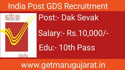 India Post Gramin Dak Sevak Recruitment