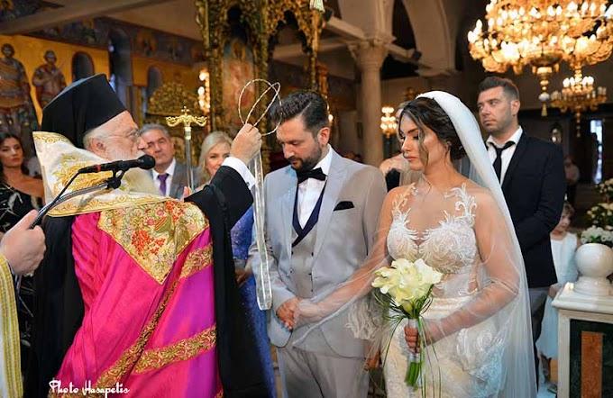 O αριστερός ψάλτης του Μητροπολιτικού Ναού Βέροιας Γιώργος Ανδρικόπουλος παντρεύτηκε την Έλενα Ψυχογιού
