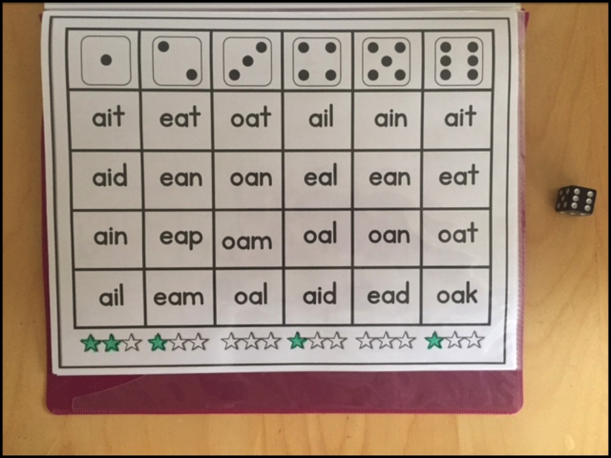 Sarah S First Grade Snippets Vowel Teams Printable Intervention