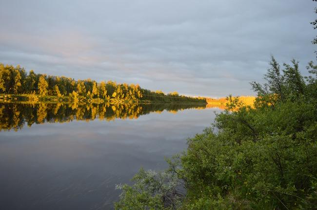 kesa_Lappi_auringonnousu_ounasjoki