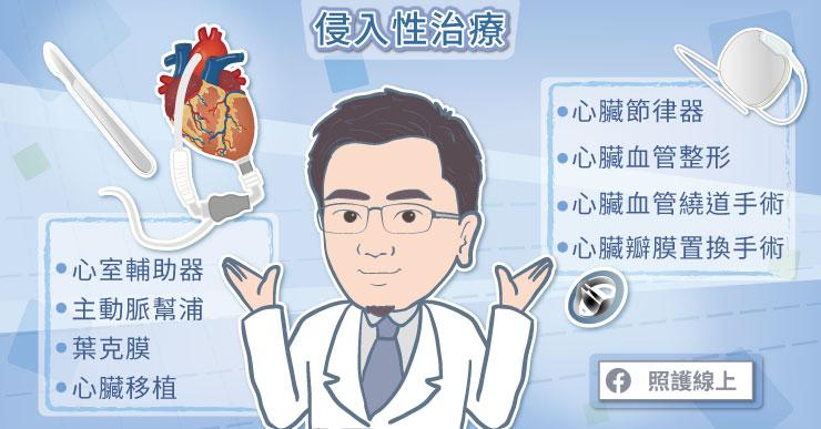 心臟衰竭的侵入性治療