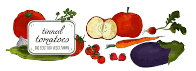 Tinned Tomatoes food blog banner