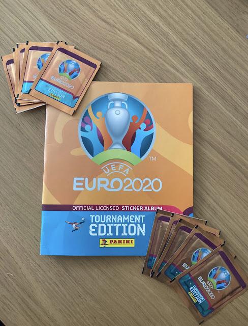 Copertina Album Euro 2020