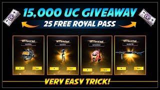 مسابقة ببجي للحصول على ازيد من 15 الف شدة - PUBG Mobile 15000 UC Giveaway