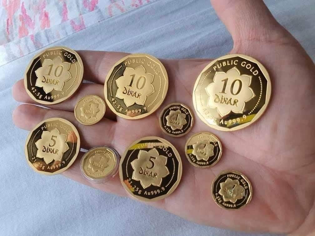 dinar, 1 dinar, dinar public gold,