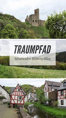 Ausgezeichneter Premiumwanderweg Monrealer Ritterschlag | Traumpfad in der Eifel | Premiumweg Wandern Rheinland Pfalz | Tourenbericht + GPS-Track