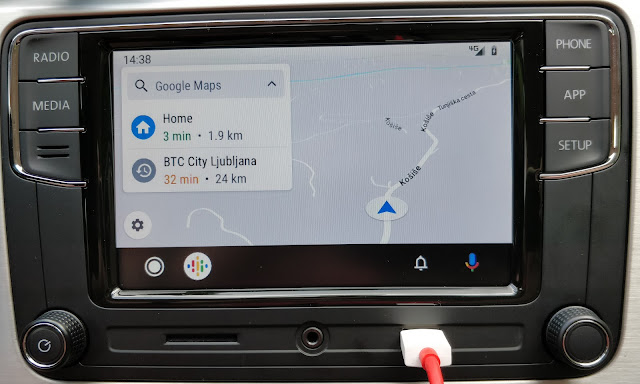 Android Auto on RCD330