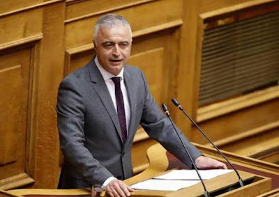 Λάζαρος Τσαβδαρίδης από το βήμα της Βουλής: «Τίτλους τέλους» στο καρκίνωμα των παράνομων ελληνοποιήσεων των εμβληματικών προϊόντων της Ελληνικής γης, βάζει η Κυβέρνηση της ΝΔ
