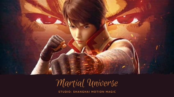 Martial Universe Chinese Anime