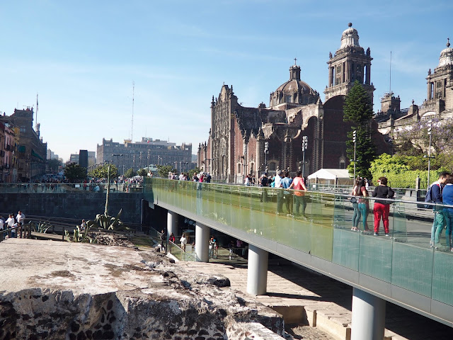 Cathedral & Templo Mayor, Mexico City, Mexico