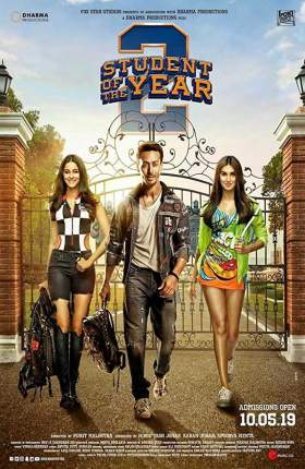 Student of the Year 2 (2019) Full Movie Hindi 1.1GB WEB-DL 720p