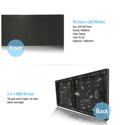 Đơn vị cung cấp màn hình led p5 module chất lượng tại quận 7