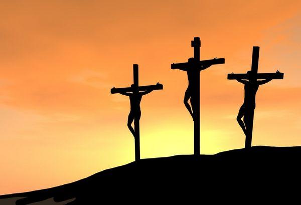 ladrão na cruz