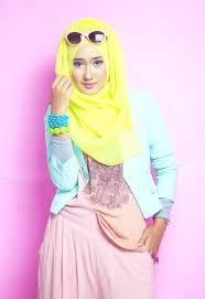 Model Pakaian Gamis Muslim Remaja Terbaru