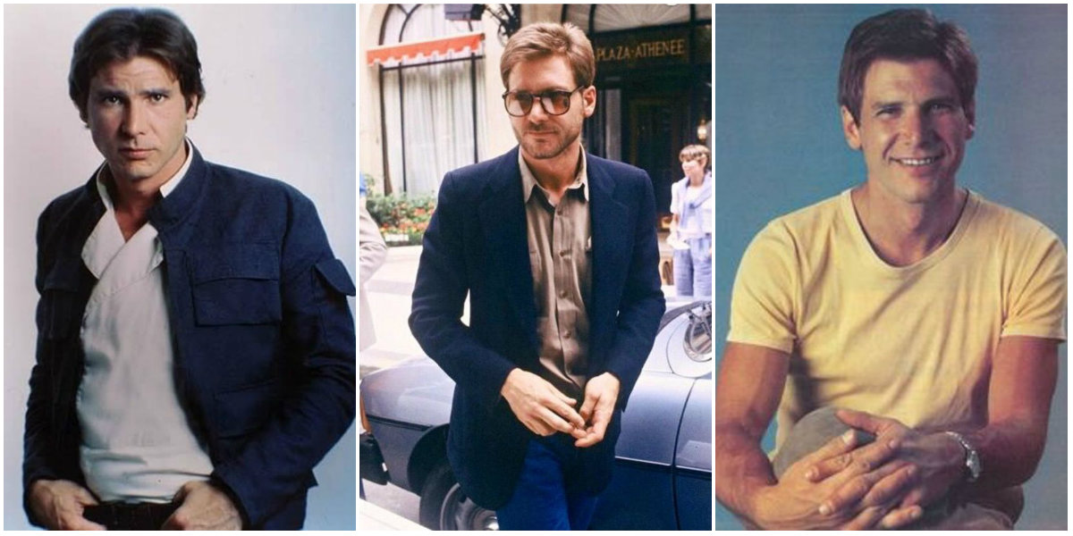 25 Vintage Photos of a Very Handsome and Young Harrison Ford in the