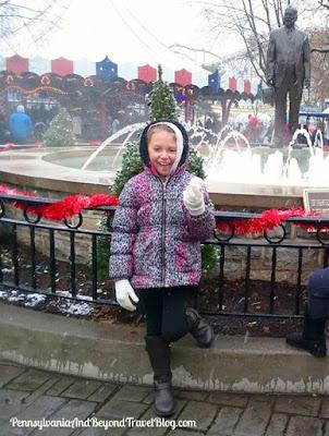 Hersheypark Christmas Candylane in Hershey Pennsylvania