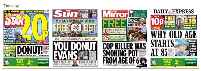 Tuesday front pages