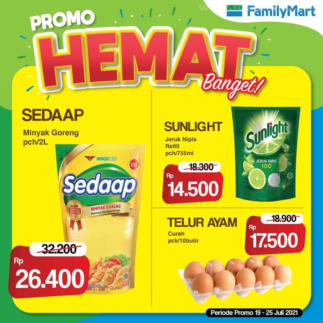 Family Mart Promo Hemat Banget Periode 19 - 25 Juli 2021