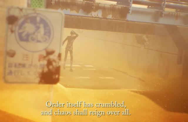Shin Megami Tensei V order crumbled chaos reigns Nintendo Switch