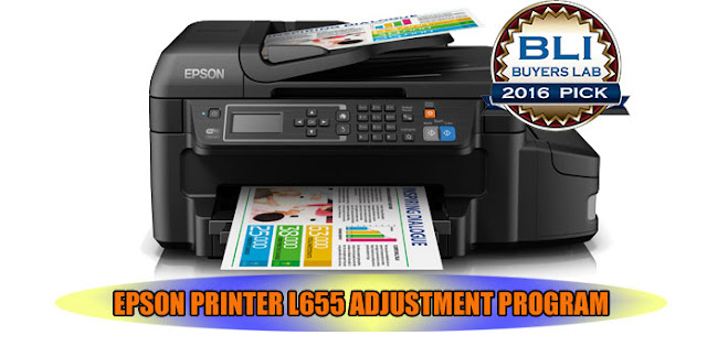 EPSON L655 PRINTER ADJUSTMENT PROGRAM
