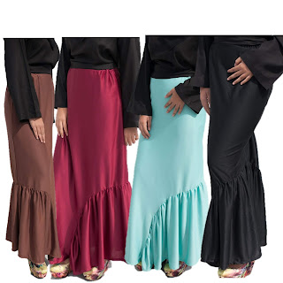 Pleated Skirt Muslimah
