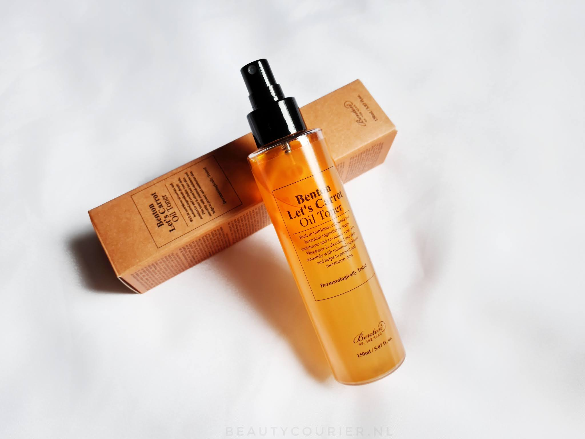 Review | Benton - Let's Carrot - Oil Toner | beautycourier.nl