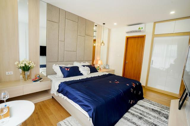 Phòng ngủ căn hộ The K Park