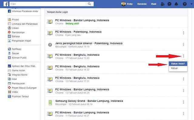 Bukan Anda Facebook