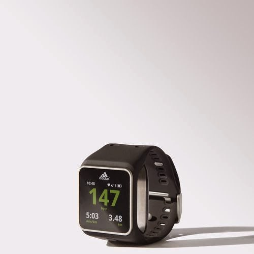 image of miCoach watch