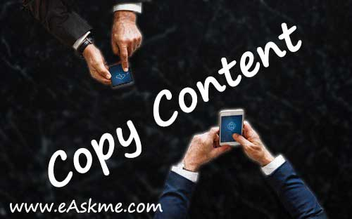 Copy Content: Why Your Blog is Dying? & How to Save it: eAskme
