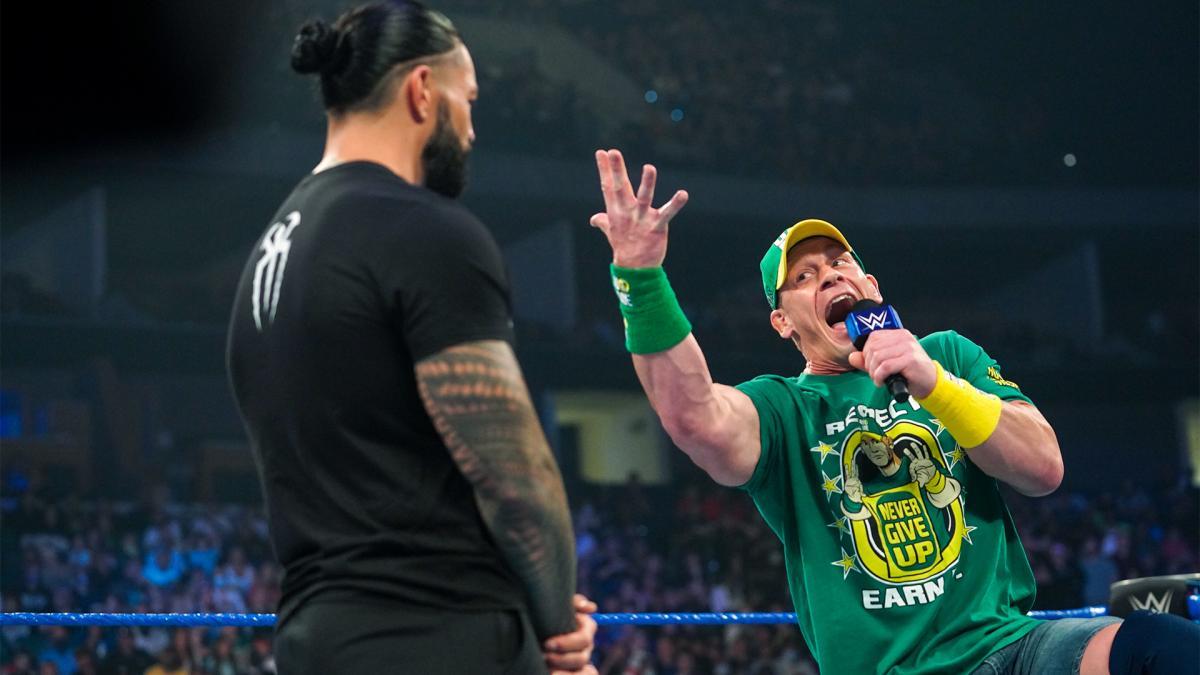 John Cena e Roman Reigns não ensaiaram seu segmento do último WWE SmackDown