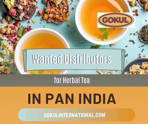 Take Distributorship of Gokul International Herbal Tea Brand