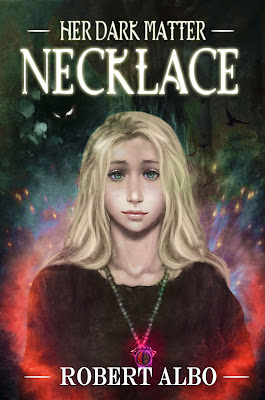 cover of Her Dark Matter Necklace by Bob Albo