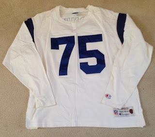 Los Angeles Rams Deacon Jones Champion Throwbacks jersey