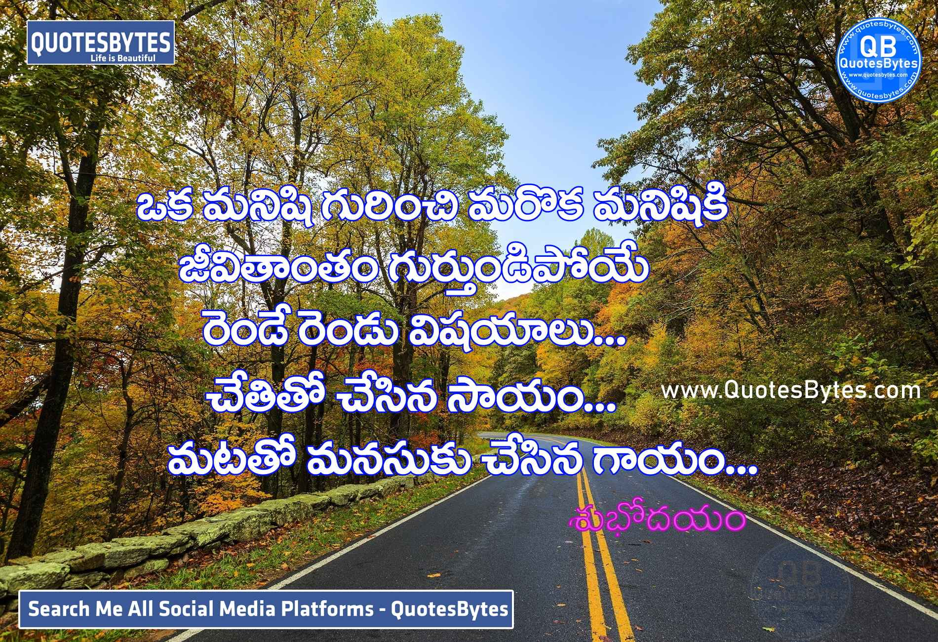 good morning images in telugu-Good Morning Quotes Telugu
