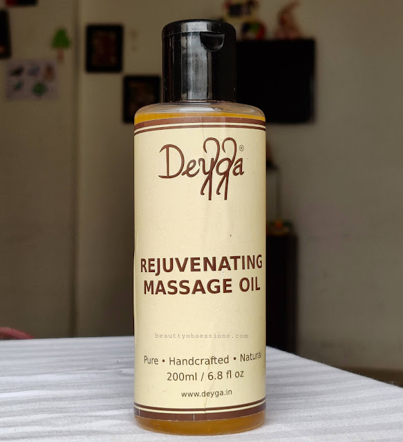 Rejuvenating Massage oil from brand Deyga
