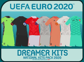 PES 17 National Team Kitpack by Dreamer For UEFA EURO 2020