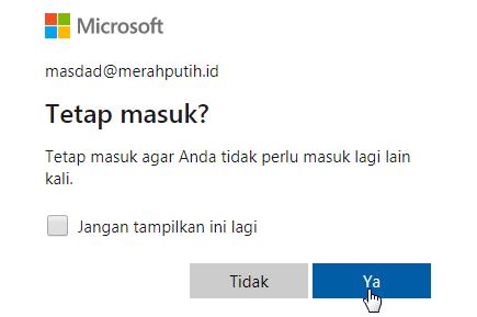 akun Excel Online