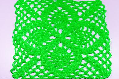 5-Crochet Cuadro de puntos de piñas Majovel Crochet ganchillo.