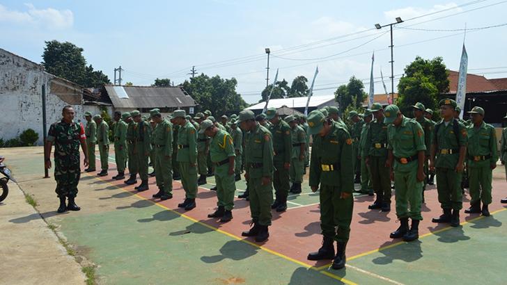 Pembekalan Pelatihan Linmas Jelang Pemilu 2019