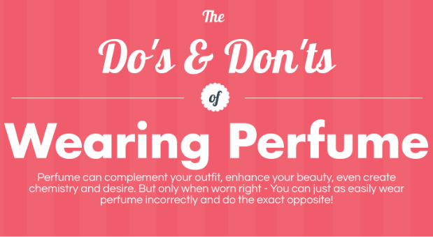 How To Wear Your Perfume #Infographic