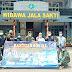 TNI AL BERSAMA MASYARAKAT BANTEN SALURKAN BANTUAN SOSIAL UNTUK KORBAN BENCANA ALAM