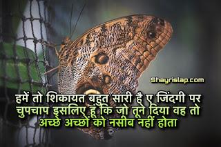 Best collection of zindagi shayari in hindi | life shayari  | ज़िंदगी शायरी हिंदी मैं