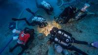 Excavando el barco romano