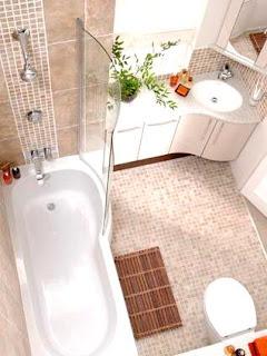 Model keramik kamar mandi sederhana minimalis