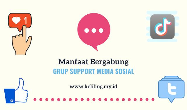 Support Media Sosial